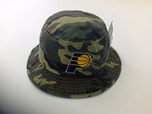 Indiana Pacers Adidas NBA Bucket Hat - Camouflage