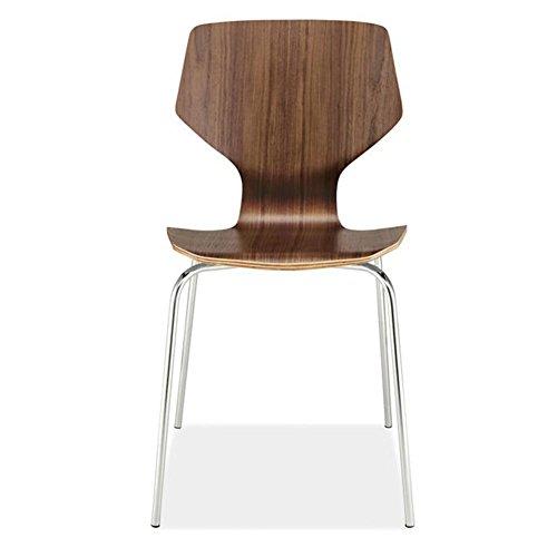 Chaise Fauteuil Siège Chaises Chair Couleur Pure Caractère Décontracté Bureau Négocier Réception Hôtel Art Du Fer Vent Industriel Ménage TINGTING (Couleur : Brown)
