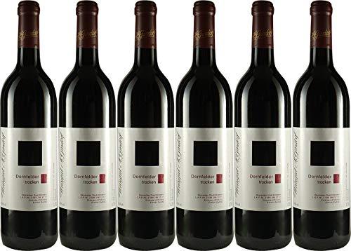 Weingut Schwab Thüngersheimer Dornfelder 2016 trocken (1 x 0.25l) Rotwein Franken Frankenwein