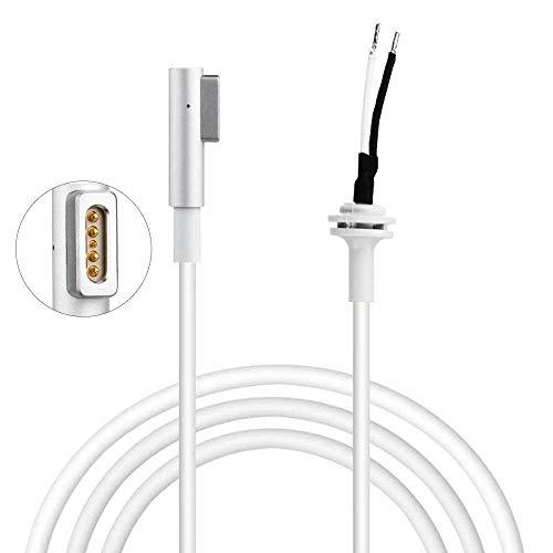 Ersatzkabel Stromkabel für MacBook Pro Ladegerät Kable Reparaturen, 85W 60W 45W, L-Form