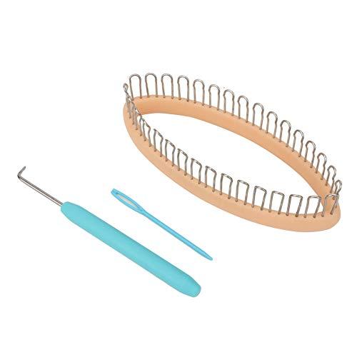 ASOMI DIY máquina de tejer calcetines calentadores de piernas tejedor anillo de ganchillo hilo aguja herramientas de punto Color al azar