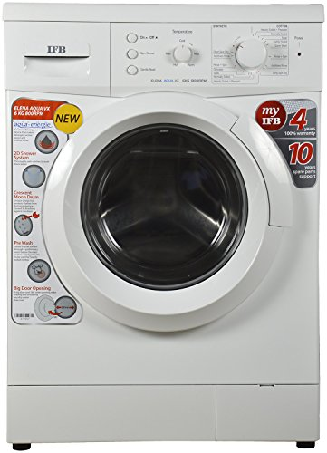 IFB 6 kg Fully-Automatic Front Loading Washing Machine (Elena Aqua VX, White, Inbuilt Heater, Aqua Energie water softener)