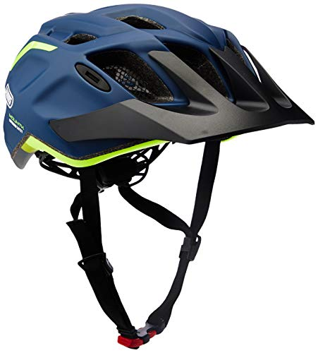Abus 78175-9 Casco Bicicleta, Unisex Adulto, Azul (midnight blue), L (58-62 cm)