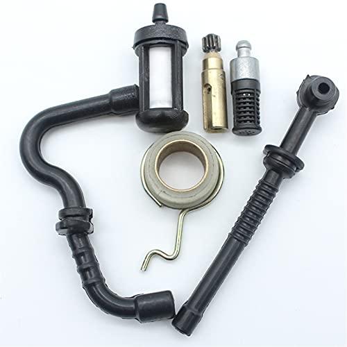 Bomba de aceite Kit de servicio de manguera de combustible de combustible de combustible de combustible para S-TIHL MS180 MS170 170 180 018 017 Piezas de repuesto de motosierra