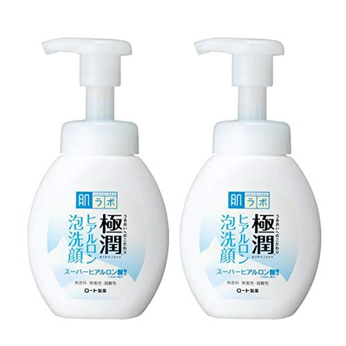 Hadalabo Japan Gokujyun Hyaluronic Acid Moisture Bubble Foaming Cleanser (160ml) 2set
