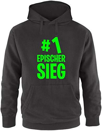 EZYshirt® #1 epischer Sieg Pullover Herren | Männer Kapuzenpullover | Hoodie