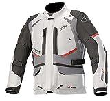 Alpinestars Andes V3 Drystar Motorrad Textiljacke Weiß/Schwarz/Grau L