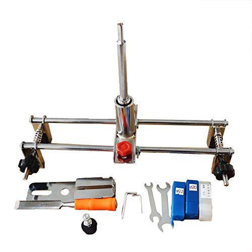 INTBUYING Wooden Door Tapper Manual Slotting Tool Drilling Tool Door Lock Drilling with Drill