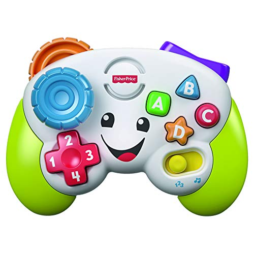 Fisher-Price FXX43 Bilingual Game Controller for Babies Toddlers Kids Toddlers Toys Educational Toys Educational Learning English Foreign Finger Play FXX43