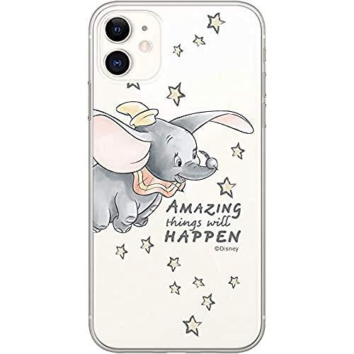 Original & Offiziell Lizenziertes Disney Dumbo Handyhülle für iPhone 11, Hülle, Hülle, Cover aus Kunststoff TPU-Silikon, schützt vor Stößen & Kratzern