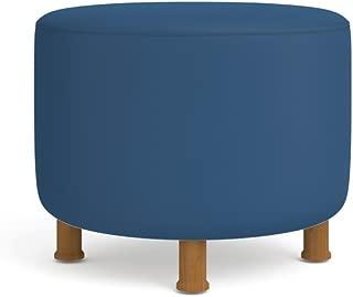 Turnstone Alight Lounge Round Ottoman: Wood Legs