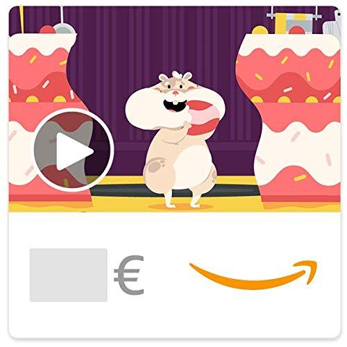 Digitaler Amazon.de Gutschein mit Animation (Hamster)