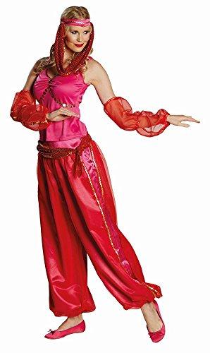 Orient Kostüm Jeanie Größe 42, 1001 Nacht Flaschengeist arabische Tänzerin Bollywood Suleika (42)