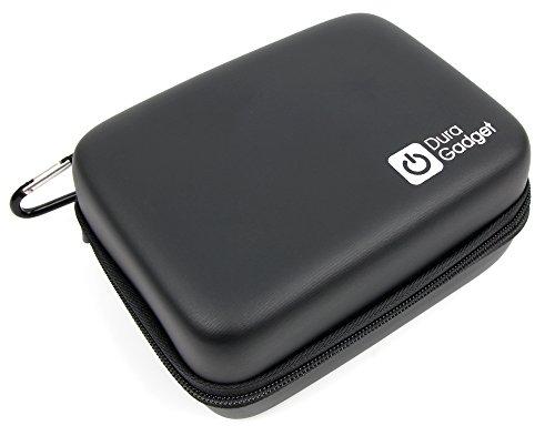 DURAGADGET Funda Rígida para GPS Tomtom Rider 420 - con Mini Mosquetón - Resistente Y Duradera