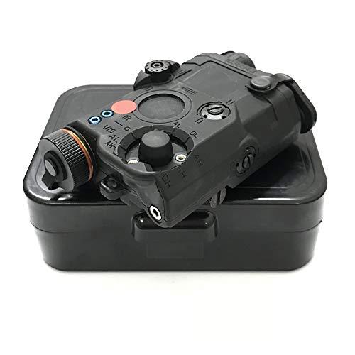 Worldshopping4U FMA PEQ Upgrade Version Powerful LED White Flashlight + Red with Lenses (Black)