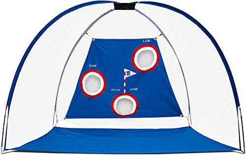 PGA Tour Pro Size Driving Net with Carry Bag - Height 214cm/7ft - Width 305cm/10ft - Depth 153cm/5ft