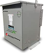 American Rotary 9 kVA 240D/208D Volt Primary to 208D/240D Volt Secondary 3 Phase Transformer