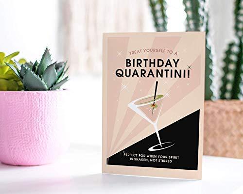 Birthday Limited Regular discount price Quarantini - Greeting Everyone For Card
