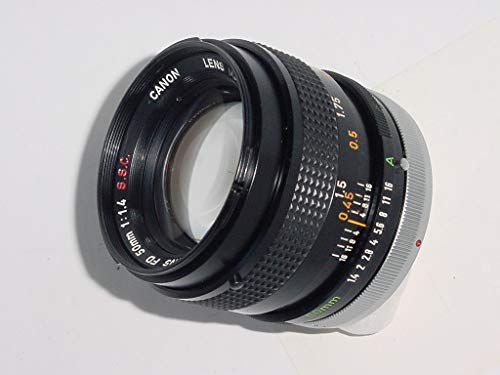 Canon 50mm F1.4 S.S.C. FD Mount Manual Focus Lens