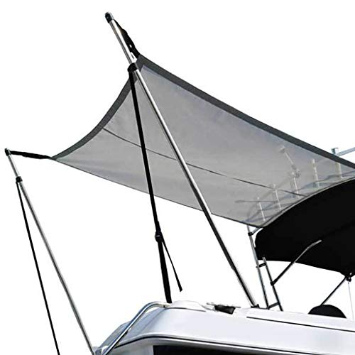 Yate para sombrilla de Barco, toldo/Techo de Barco, Refugio/Tienda de Pesca, aleación de Aluminio, Plegable portátil, Impermeable, UV, Modelos Modernos de Alta Gama