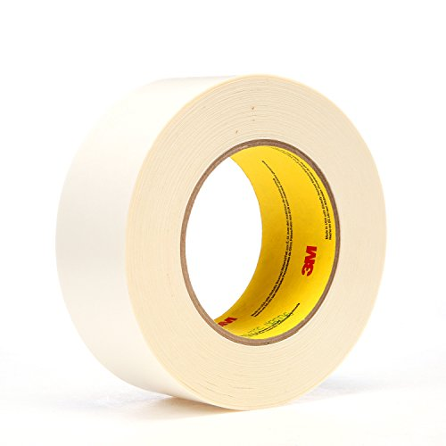 3M 17573-case Repulpable Double Coated Splicing Tape 9038W, 36 mm x 33 m, White (Pack of 24)