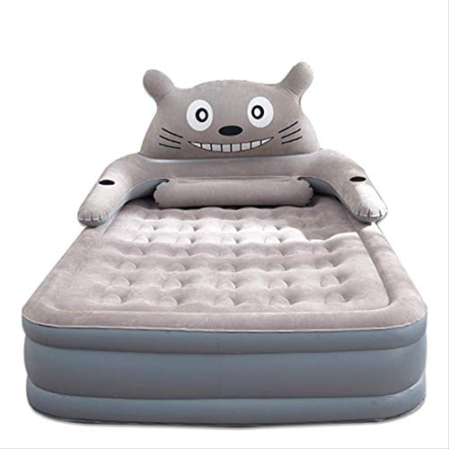 JFDY Inflatable bed Three floors Home double air cushion bed plus thick plus high inflatable mattress single simple folding bed.