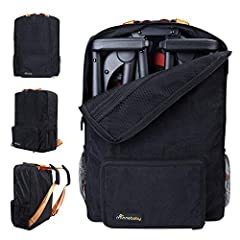 STYLISH & DURABLE - Sleek and functional, our universal stroller travel bag is compatible with all gb Pockit and gb Pockit Plus strollers (not work for all-city) along with the Clutch Stroller by Delta Children, or the Baby Joy Pocket Stroller. Pleas...