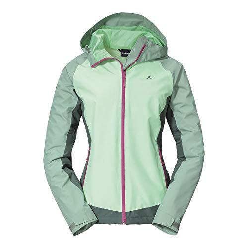Schöffel Damen Jacket Wamberg L Jacke, Lily Pad, 38 EU