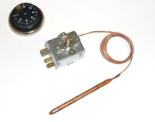 Universal-Thermostat mit Kapillarrohr und Fühler Potentialfrei 0-120 °C