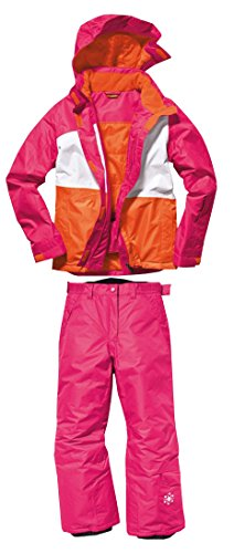 Mädchen Snowboardanzug 158/164 NEU Pink Snowboardjacke & Snowboardhose Skianzug