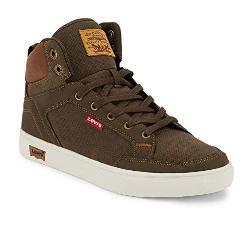 Levi's Mens Walker WX Casual Sneaker Boot, Brown/Tan, 10 M
