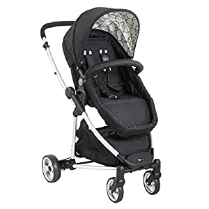 My Child Floe Reversible Convertible Pushchair, Rainbow Squiggle   6