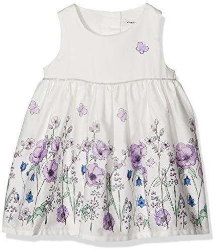NAME IT Baby-Mädchen NBFFALLYN Spencer Kleid, Weiß (Snow White), (Herstellergröße: 62)