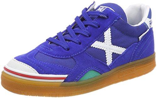 Munich Gresca, Zapatillas de Deporte Unisex Niños, Multicolor (Azul), 35 EU