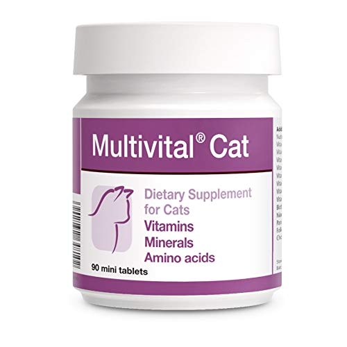 PETS Dolfos Multivital Cat 90 Mini Tabletas Vitaminas Minerales para Gatos