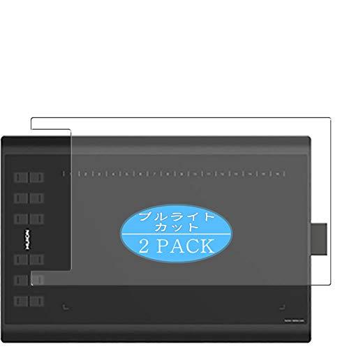VacFun 2 Piezas Filtro Luz Azul Protector de Pantalla Compatible con HUION New 1060PLUS / 1060 Plus Pen Tablet, Screen Protector Película(Not Cristal Templado) Anti Blue Light Filter New Version