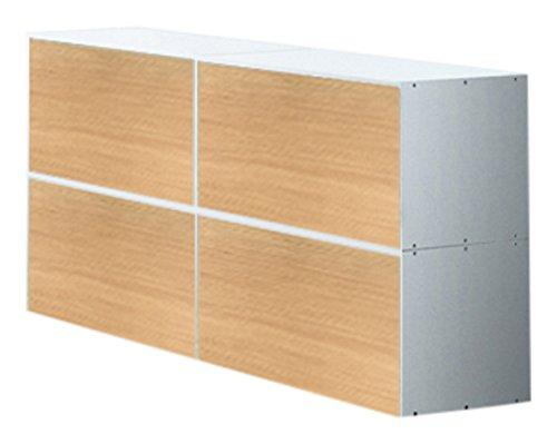 weko Systemmöbel baureihe e AZ-TYP-13C Schrank, Holz, Eiche, 40 x 160 x 81 cm