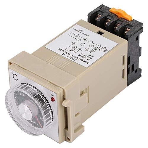 ViewSys Transformador, Sensor de control de temperatura inteligente Controlador de temperatura, dial del análogo de termostato, integrado, Tipo E5C2-R carril DIN for celdas, subestación, transformador