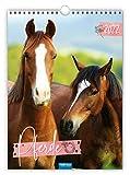 Trötsch Classickalender Pferde 2022: Wandkalender