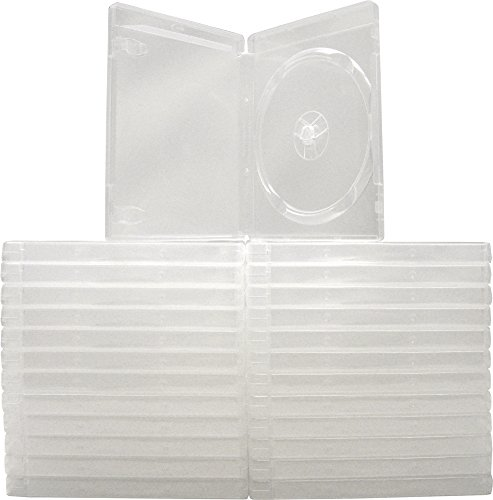 (25) Empty Standard Clear 14MM Replacement Boxes - Compatible with Playstation 3 (PS3) - #VGBR14PS3CL