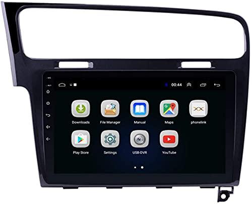Radio Player e Video Stereo Autoradio stereo da 9 pollici per Volkswagen Golf 7 2014-2018, Bluetooth/GPS/WiFi/SWC/Link a specchio/FM/Vista posteriore