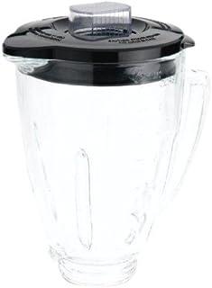 Oster BLSTAJ-CB Blender 6-Cup Glass Jar - Black Lid (Renewed)