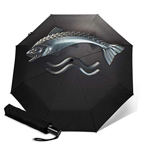 Game Thrones dreifach faltbarer Regenschirm Reiseschirm faltbar tragbar Regenschirm winddicht Auto Regenschirm Sonnenschirm