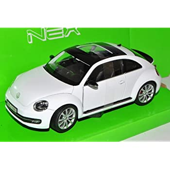 VW Volkswagen Beetle New Coupe Ab 2011 Rot 1//24 Welly Modell Auto mit oder ohne