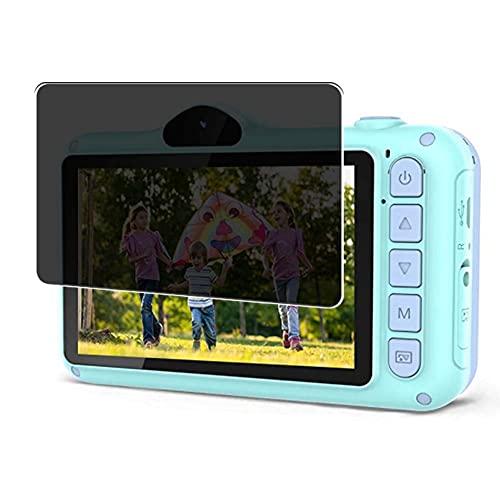 Vaxson TPU Pellicola Privacy, compatibile con Coolwill Kids Camera X8, Screen Protector Film Filtro Privacy [Non Vetro Temperato Cover Custodia ]