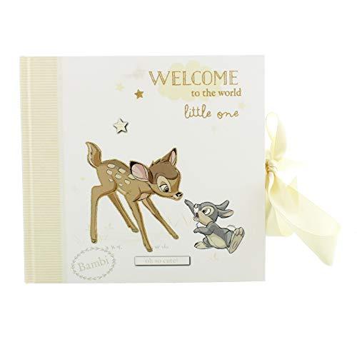 "Disney WBM-GFT56 Magical Beginnings DI280 Fotoalbum ""Bambi"", 10,2 x 15,2 cm, transparent, 200 g"