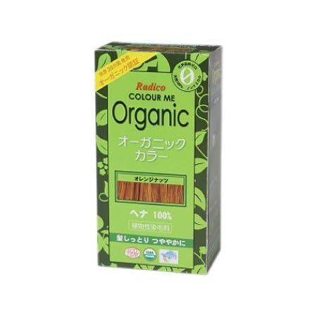 COLOURME Organic (カラーミーオーガニック ヘナ 白髪用) オレンジナッツ 100g