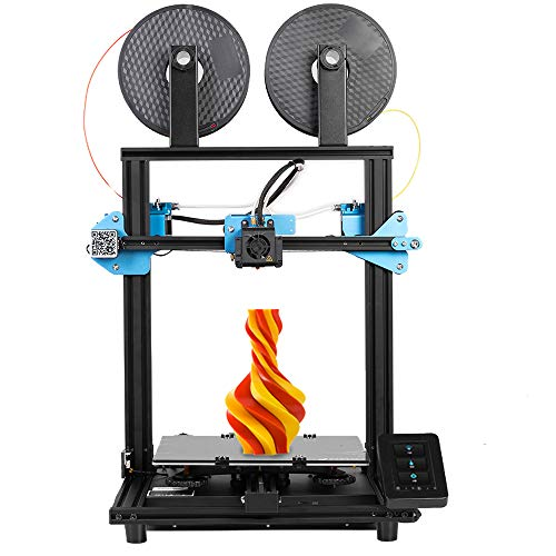 Sovol SV02 3D Printer with All-Metal Dual Extruder, Silent Mainboards TMC2208 Drive, Meanwell Power Supply and 4.3 inch Touchscreen, Printing Size 240 x 280 x 300 mm