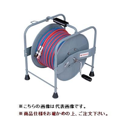 イチネンTASCO 溶接用ホースリール TA381R-20 カプラ付 20m