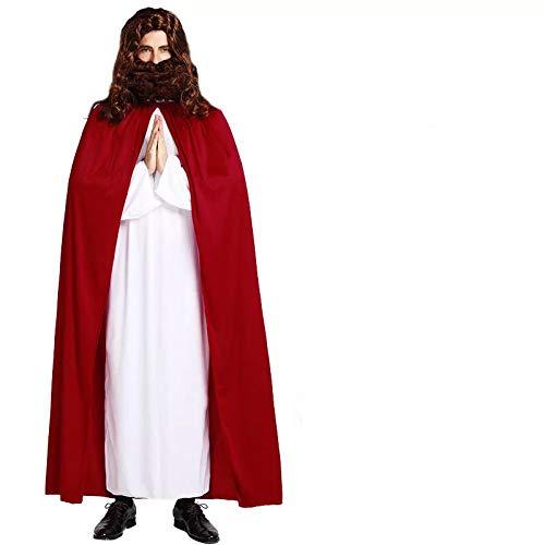 thematys® Gesù Costume per Gli Uomini - Perfetto per Cosplay, Carnevale e Cosplay - Taglia Unica 160-180 cm